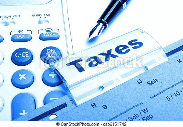 taxes - csp6151742