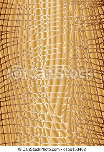 Vector textures gold reptile skin - csp6153482