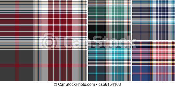 plaid fabric check pattern - csp6154108