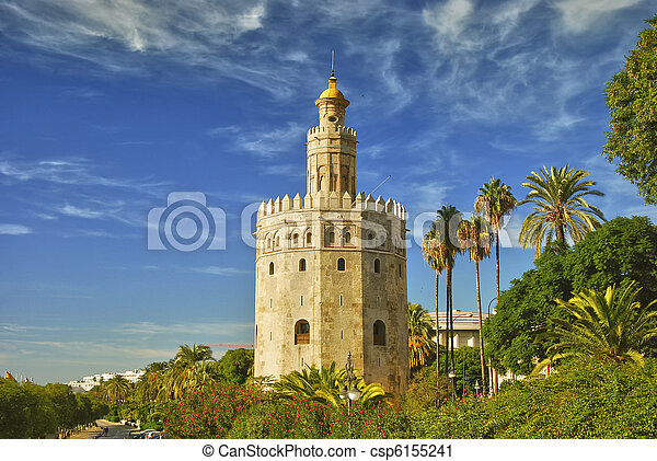Tower of gold,  Seville - csp6155241