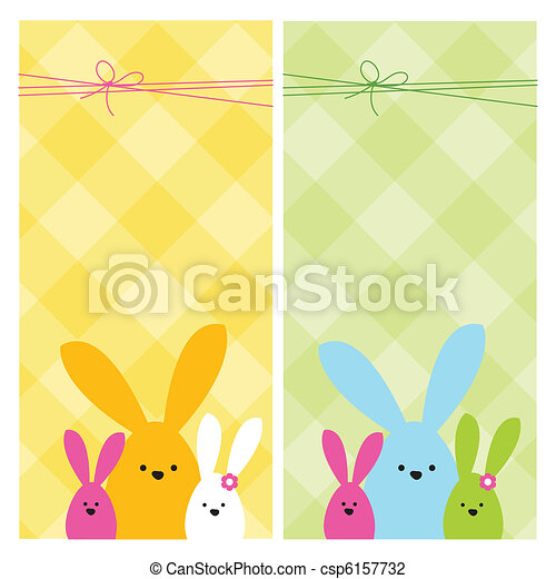 Easter card - csp6157732