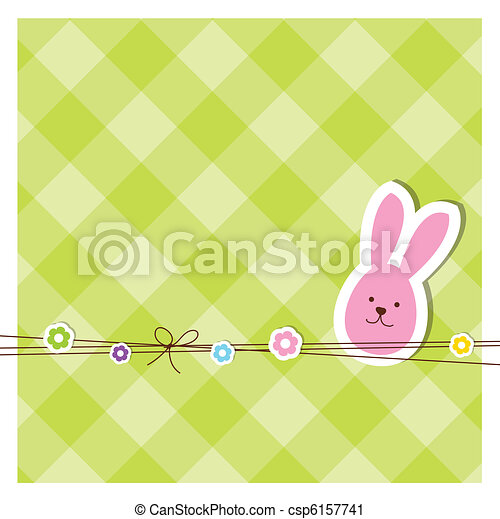 Easter card - csp6157741