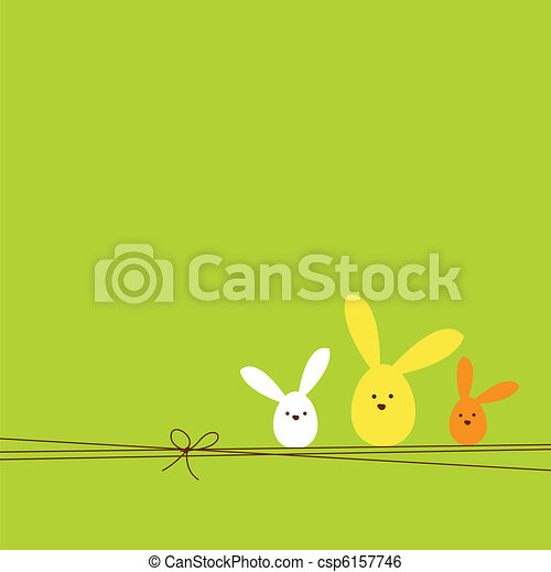 Easter card - csp6157746