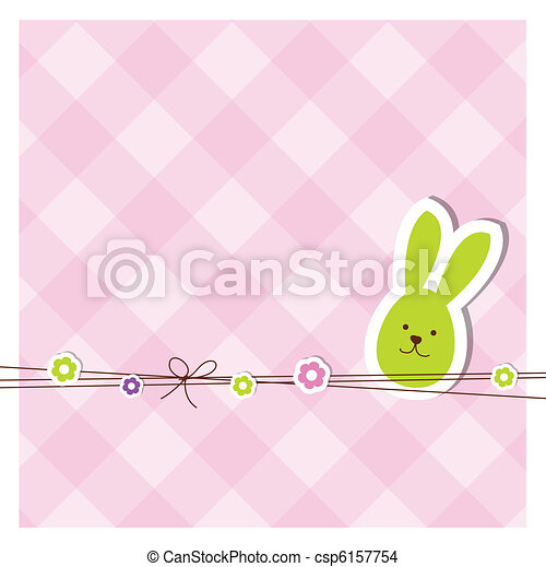 Easter card - csp6157754