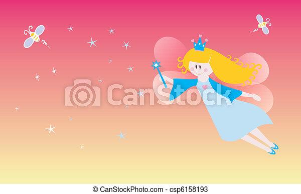 Dreamy fairy - csp6158193