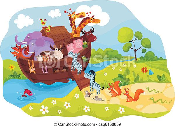 Noah\'s Ark - csp6158859