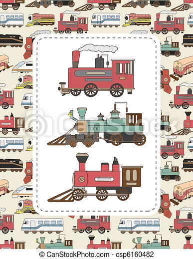 train card  - csp6160482