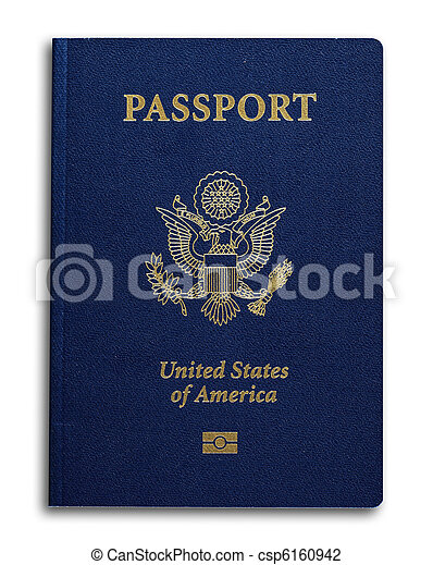 New US Passport - csp6160942