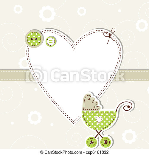 Baby arrival card - csp6161832