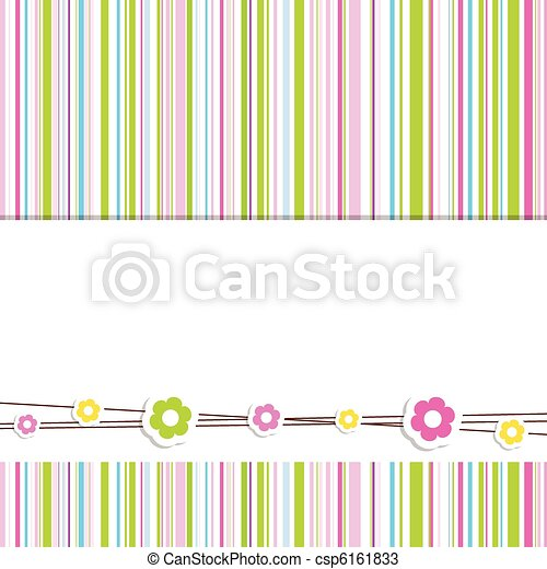 Greeting card with copy space  - csp6161833