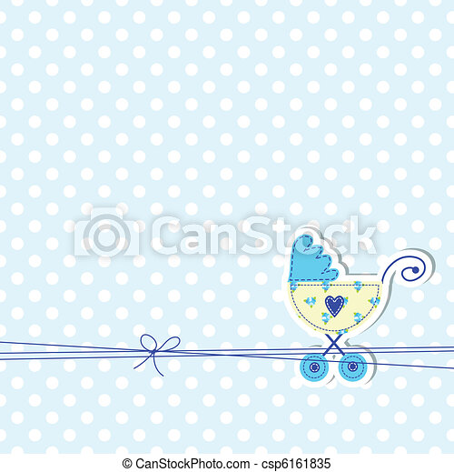 Baby arrival card  - csp6161835