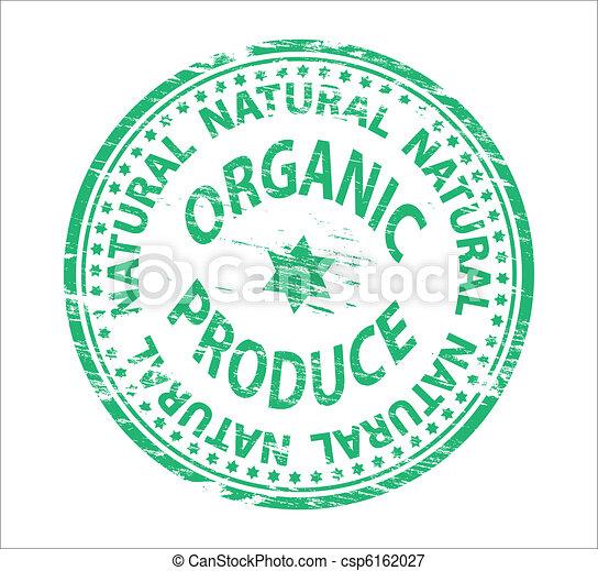 Organic Stamp - csp6162027