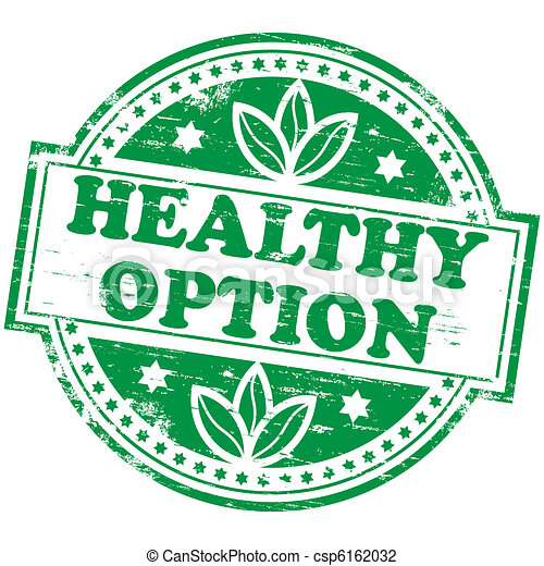 Healthy Option Stamp - csp6162032