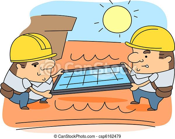 Solar Panel Installer - csp6162479