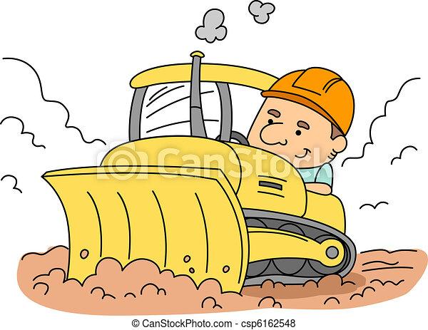 Bulldozer - csp6162548