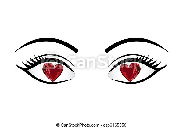 Love in Eyes - csp6165550