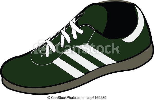 a sports shoe - csp6169239