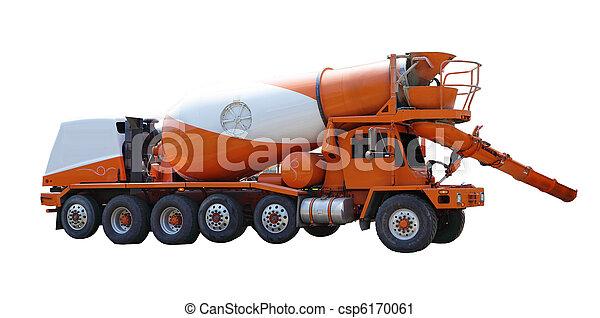 Cement Mixer Truck - csp6170061