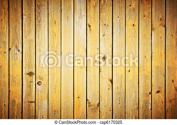 Wood planks texture. Vintage fence background. - csp6170325