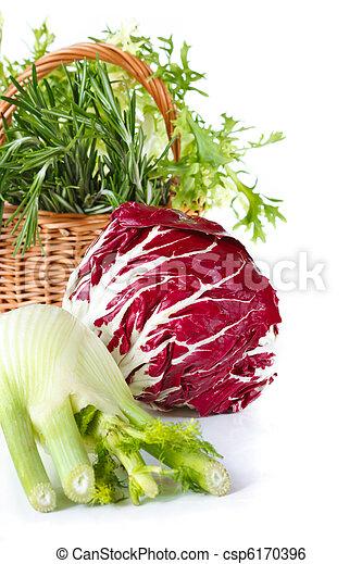 Beautiful vegetables. - csp6170396