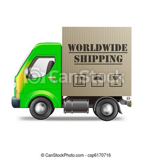 worldwide shipping - csp6170716