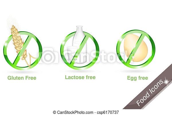 Diet icon set - csp6170737