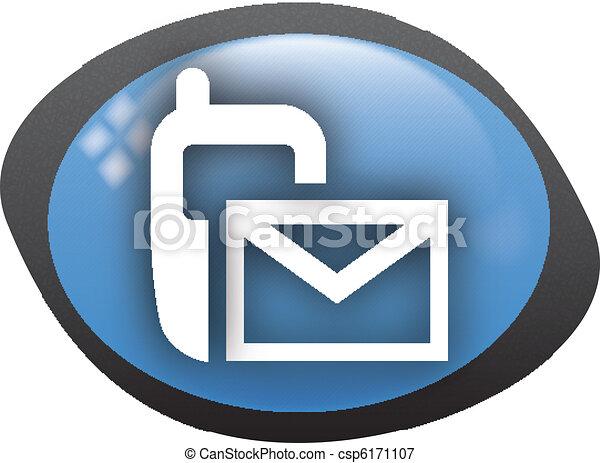 sms icon - csp6171107