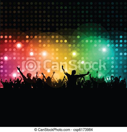 Disco people  - csp6173984