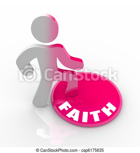 Faith - Changing as God Fills Your Heart - csp6175635