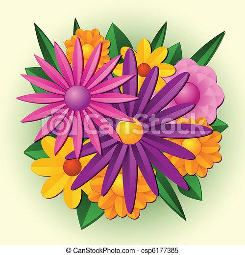 Flower bouquet - csp6177385