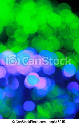 Abstract defocused lights bokeh background - csp6182451