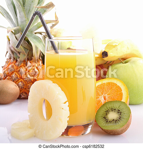 exotic fruit juice - csp6182532