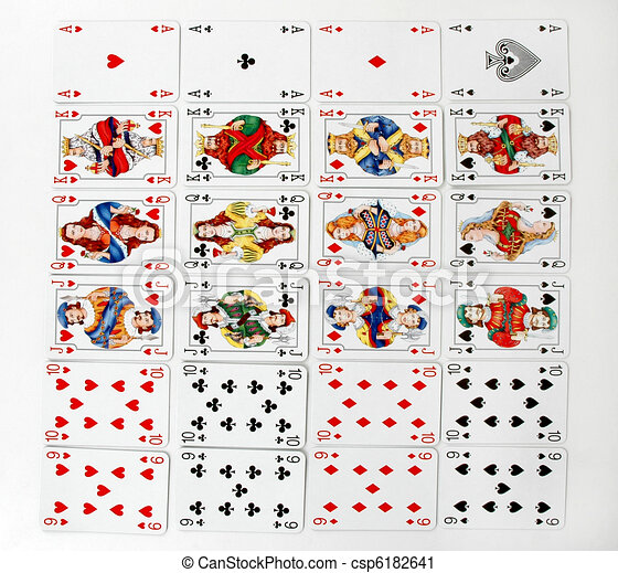 Playing cards - csp6182641