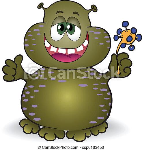 dappled fat creature - csp6183450