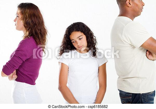 unhappy family - csp6185682