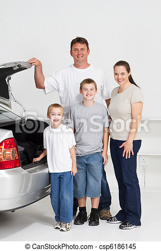 family road trip - csp6186145