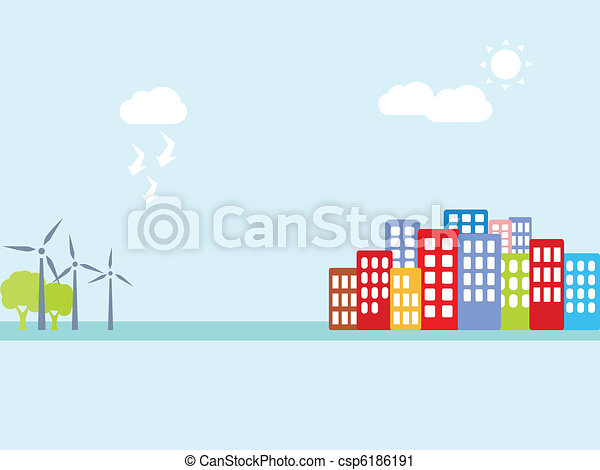 Alternative clean energy - csp6186191