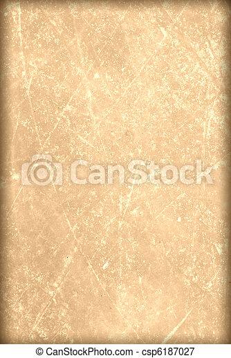 old paper, grunge background , parchment, papyrus, manuscript, - csp6187027