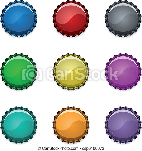 Bottle caps - csp6188073