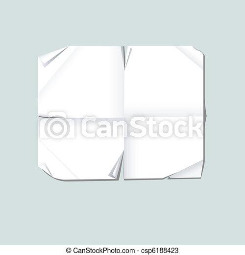 Torn paper - csp6188423