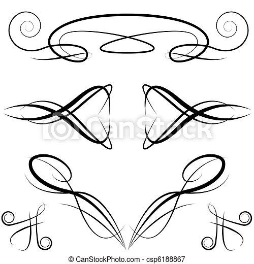 Elegant Formal Invitation Design Elements - csp6188867