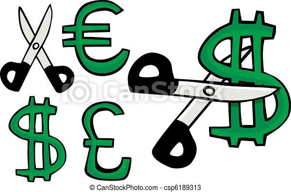 Cost-Cutting - csp6189313