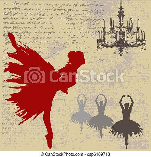 Ballerina Background - csp6189713