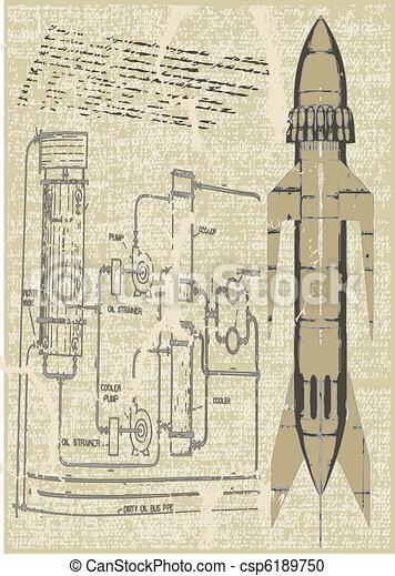 Rocket Plans - csp6189750