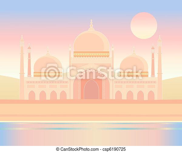 indian architecture - csp6190725