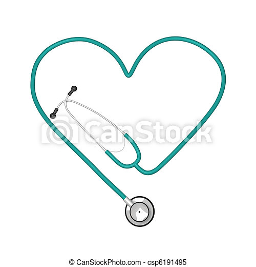 Heart Stethoscope - csp6191495