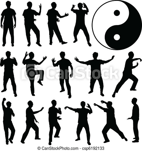 Martial Art Kung Fu Self Defense - csp6192133