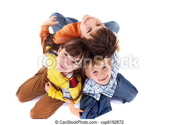 crianças, feliz - csp6192872