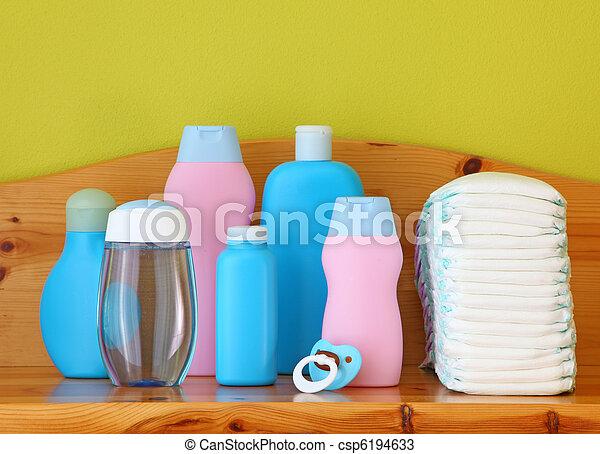 Baby cosmetics - csp6194633