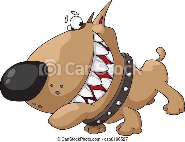 dog smile - csp6196527
